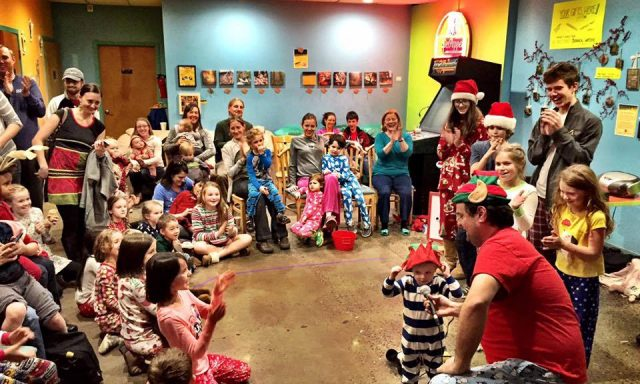 FAMILY FUN: 10th ANNUAL POLAR EXRESS PAJAMA PARTY