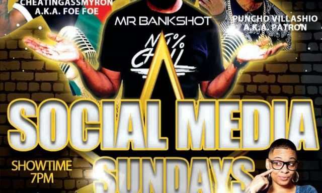 SOCIAL MEDIA SUNDAY'S ~ THE COMEDY ZONE / CHARLOTTE, NC
