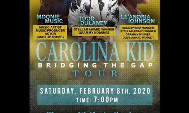 Carolina Kid Bridging the Gap Tour